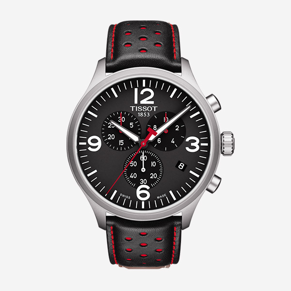 Chrono XL Metal Noir Rouge